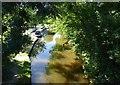 SJ3333 : Llangollen Canal at Hindford Bridge by Eirian Evans