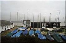SX9784 : Powderham Sailing Club by N Chadwick