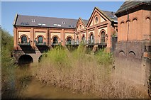 SO8352 : Powick Mills by Philip Halling