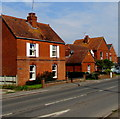 SO8006 : Brick houses, Gloucester Road, Stonehouse by Jaggery