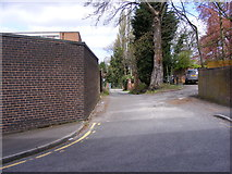 SO9198 : Alley View by Gordon Griffiths
