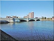 J3473 : Belfast, Albert Bridge by Mike Faherty