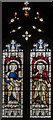 SK8816 : Stained glass window, Ss Peter & Paul church, Market Overton by Julian P Guffogg