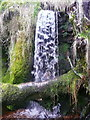 SE0908 : Waterfall on Middle Clough, Meltham by Humphrey Bolton