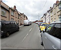 ST1596 : Steep ascent, Duffryn Street, Tir-y-berth by Jaggery