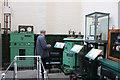 SU4924 : Twyford Pumping Station - electric pump by Chris Allen