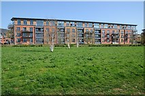 SO8453 : Apartments overlooking the River Severn by Philip Halling