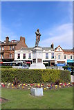 NS3321 : Burns Statue Square, Ayr by Billy McCrorie