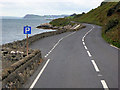 D3314 : Layby on the Antrim Coast Road by David Dixon