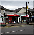 ST2390 : Spar and Post Office, Risca by Jaggery