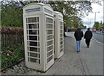 TA0728 : A pair of phone boxes in Hull by Neil Theasby