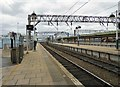 SJ8597 : Looking out of Manchester Piccadilly by Gerald England