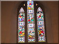SO5538 : Window inside St. Andrew's Church (Chancel | Hampton Bishop) by Fabian Musto