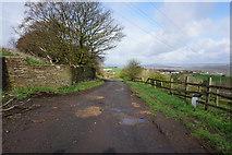 SE1220 : Cote Lane towards New Hey Road by Ian S