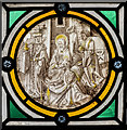 SK8500 : Medieval roundel, St Mary's church, Ayston by Julian P Guffogg