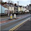 SN4201 : Pedestrian refuge, Dan Lan Road, Pembrey by Jaggery
