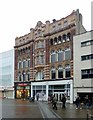 SE3033 : Former Post Office exchange building, Briggate, Leeds by Alan Murray-Rust