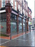SE3033 : Central Road, Leeds, east side, frontages by Alan Murray-Rust