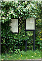 TG4901 : Browston Village Notice Boards by Adrian Cable
