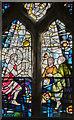 SK8902 : Modern Stained glass window, Ss Peter & Paul church, Wing by Julian P Guffogg