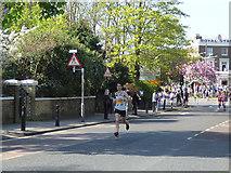 TQ4077 : London Marathon - front runner by Stephen Craven