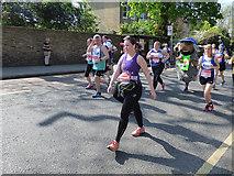 TQ4077 : London Marathon - walking and wombling by Stephen Craven