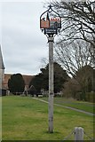 TR2258 : Ickham Village Sign by N Chadwick