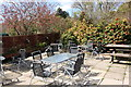 NX1558 : Outdoor Seating Area, Glenwhan Gardens by Billy McCrorie