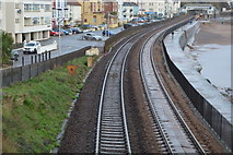 SX9676 : South Devon Railway Seawall by N Chadwick