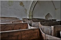 SS6744 : Parracombe: St. Petrock's Church: Original Georgian benches 4 by Michael Garlick