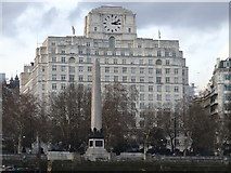 TQ3080 : Shell-Mex House and Cleopatra's Needle by Rudi Winter