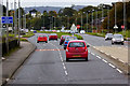 J3986 : Belfast Road, Start of Double Carriageway Section near Carrickfergus by David Dixon