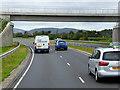 J3885 : Greenisland, Bridge over Shore Road by David Dixon