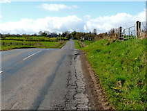H5366 : A slight hump along Moylagh Road by Kenneth  Allen
