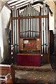 SK8613 : Organ, St Mary's church, Ashwell by Julian P Guffogg