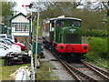 SE6552 : Derwent Valley Light Railway train, arriving at Murton by Christine Johnstone