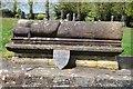 SO9570 : Memorial tomb in Bromsgrove churchyard by Philip Halling