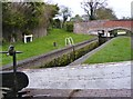 SO8687 : Gothersley Lock Scene by Gordon Griffiths