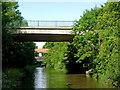 SP4977 : Canal bridges east of Newbold on Avon in Warwickshire by Roger  Kidd