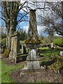 NS3878 : Millburn Kirkyard: Matheson Memorial by Lairich Rig
