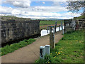 SD7807 : Bridge Remains, Manchester, Bolton and Bury Canal by David Dixon