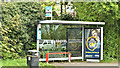 J3978 : Bus shelter, Holywood (May 2018) by Albert Bridge