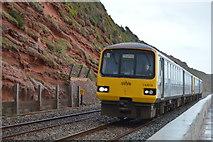 SX9777 : Paignton train on Seawall by N Chadwick