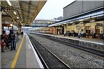 SX9193 : Platform 3, Exeter St Davids Station by N Chadwick