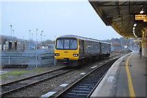 SX9193 : Platform 6, Exeter St Davids Station by N Chadwick