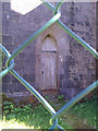 SN0215 : St John's Church, Slebech - now closed - fenced off by welshbabe