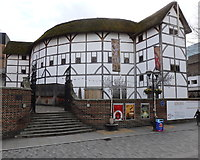 TQ3280 : The Globe Theatre by Rudi Winter