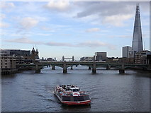 TQ3280 : River Thames downstream of the Millennium Bridge by Rudi Winter