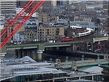 TQ3280 : Cannon Street Railway Bridge by Rudi Winter