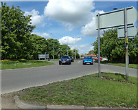 TM2649 : A12 Grove Road, Woodbridge by Geographer